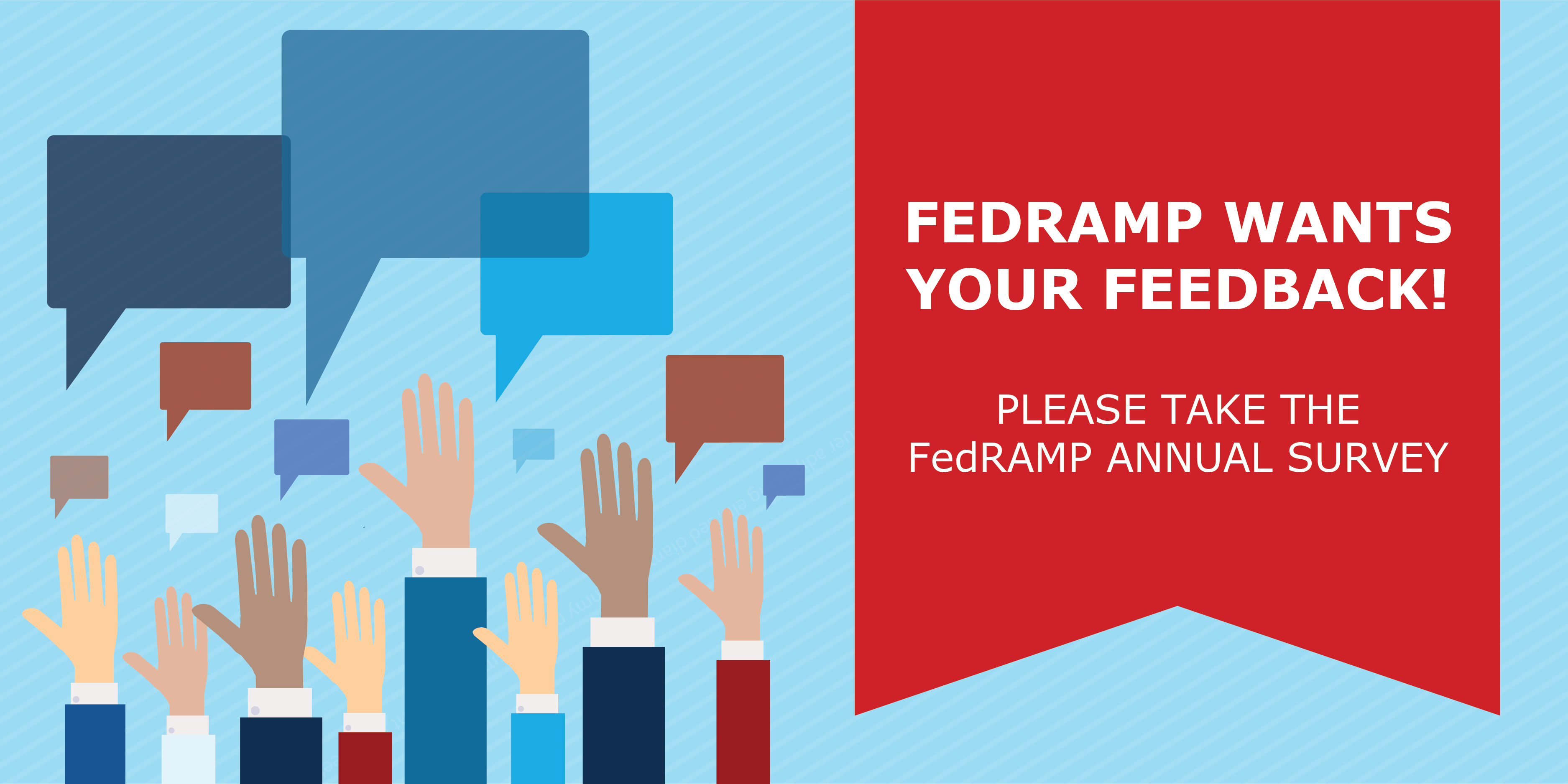 Please Take the FY19 FedRAMP Annual Survey!